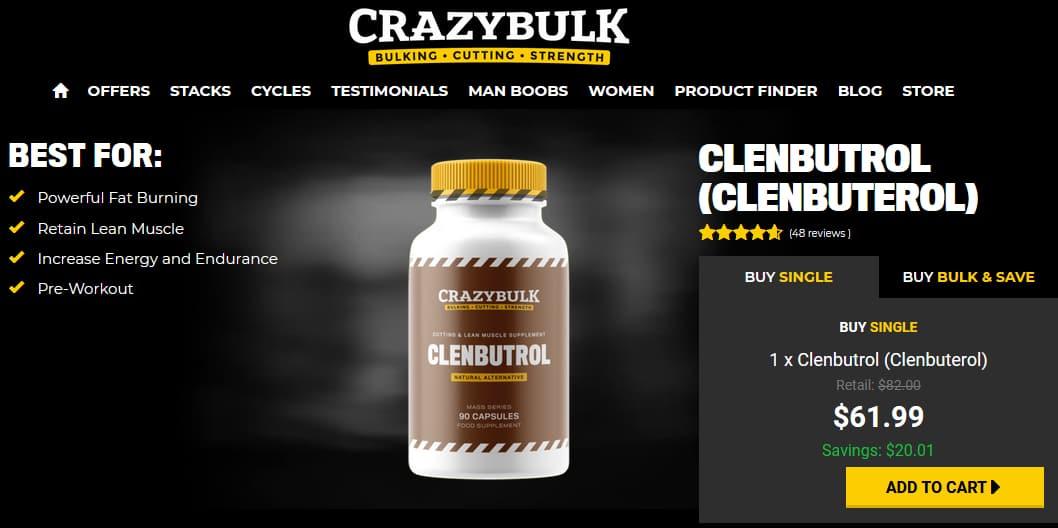 Clenbutrol Pricing