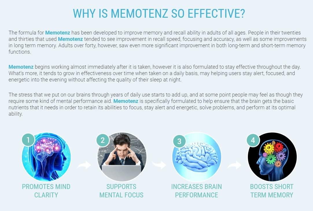 Memotenz for Brain