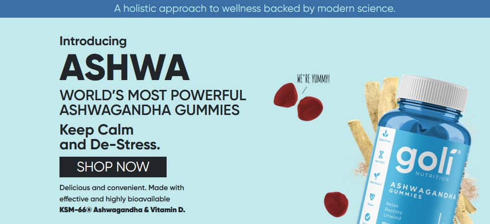 Goli Ashwa Gummies