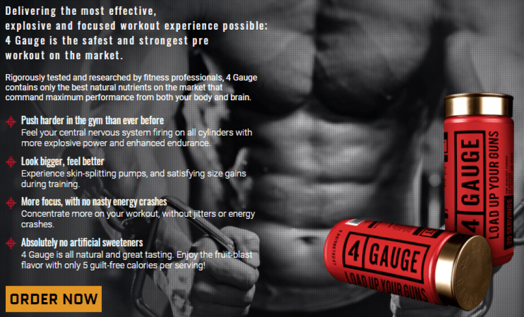 4 Gauge Pre-Workout