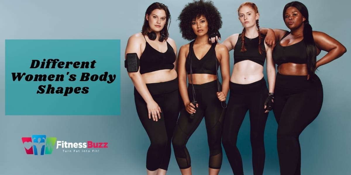 Different Women's Body Shapes