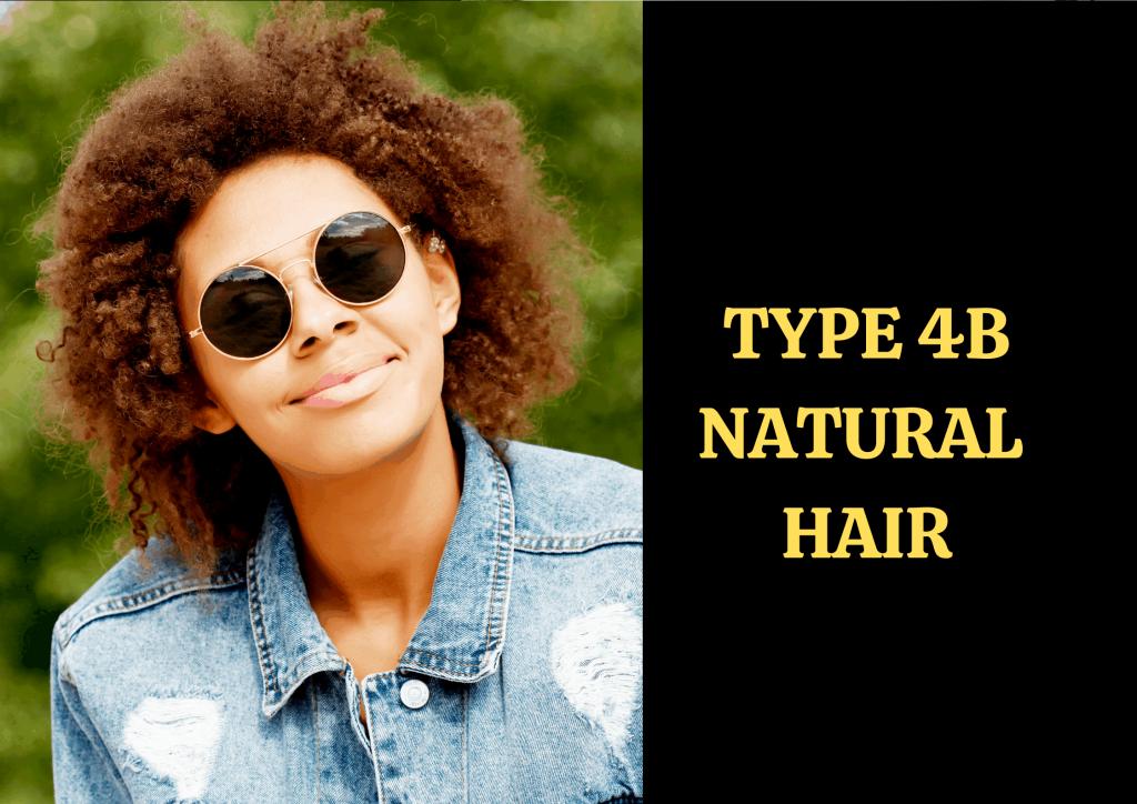 Type 4B Hair
