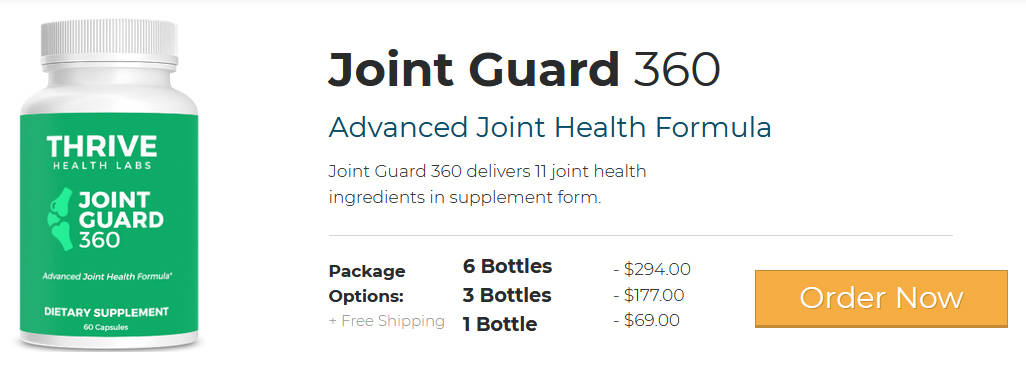 Joint Guard 360 Pricing
