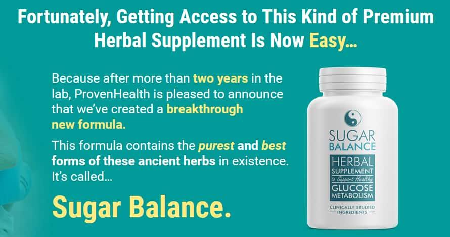 Sugar Balance Herbal Supplement Review