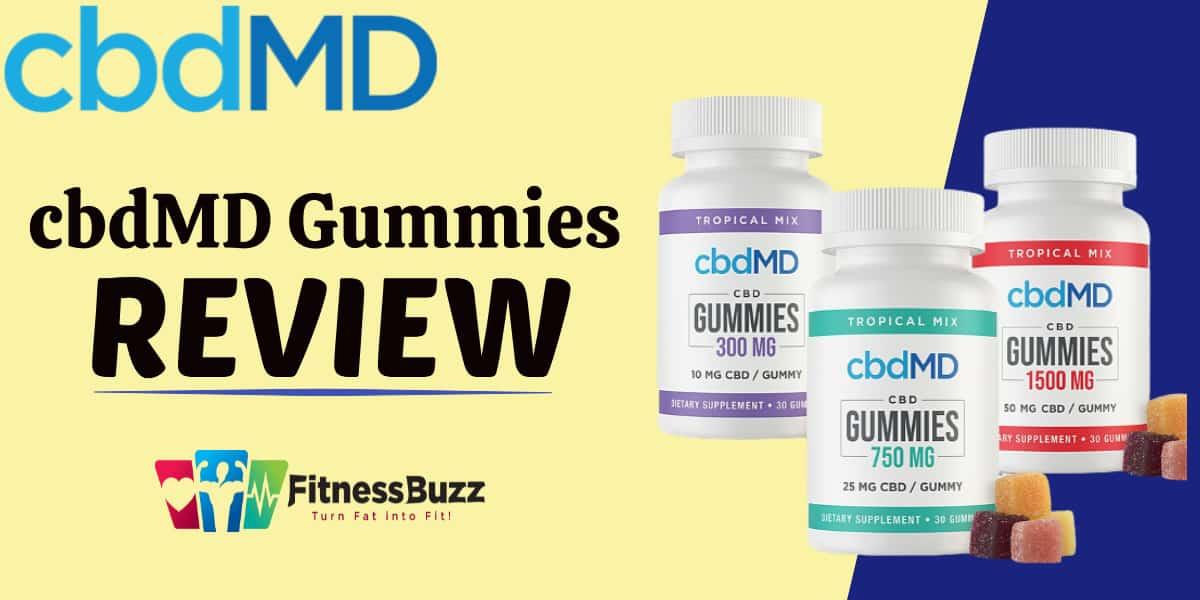 cbdMD Gummies Review